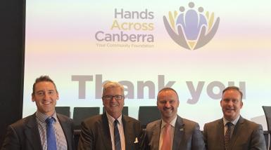 Hand Across Canberra