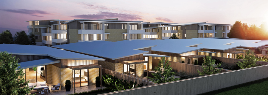 Villas at Village at Corrimal