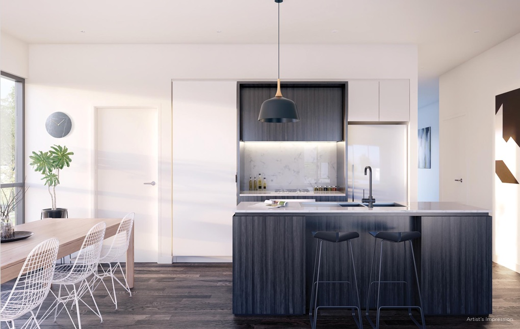 Yarraman Village Kitchen | Townhouses for sale