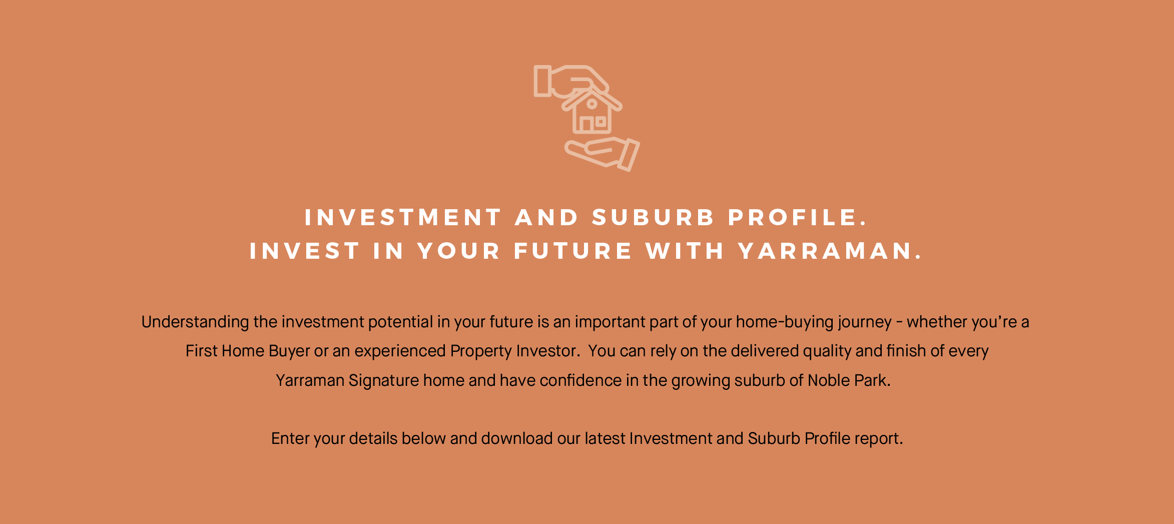 iNVESTMENT AND SUBURB PROFILE.